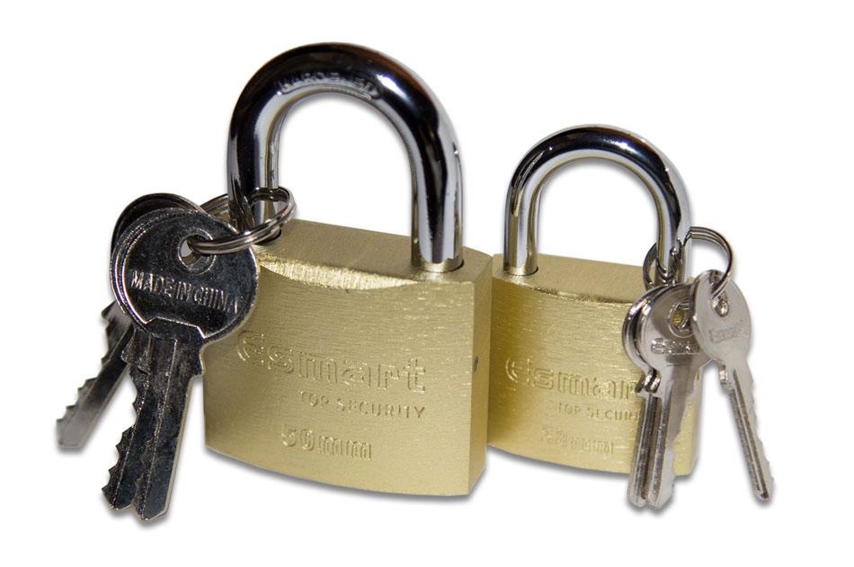 قفل آویز چدنی